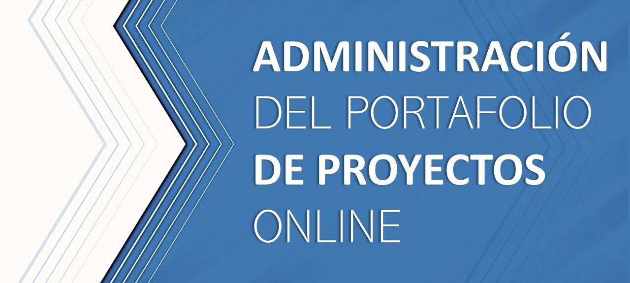 admin portafolio proyectos online