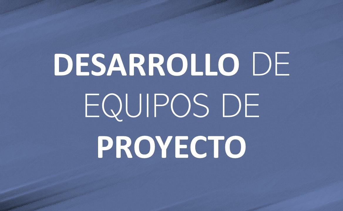 DESARROLLO DE EQUIPO DE PROYECTOS