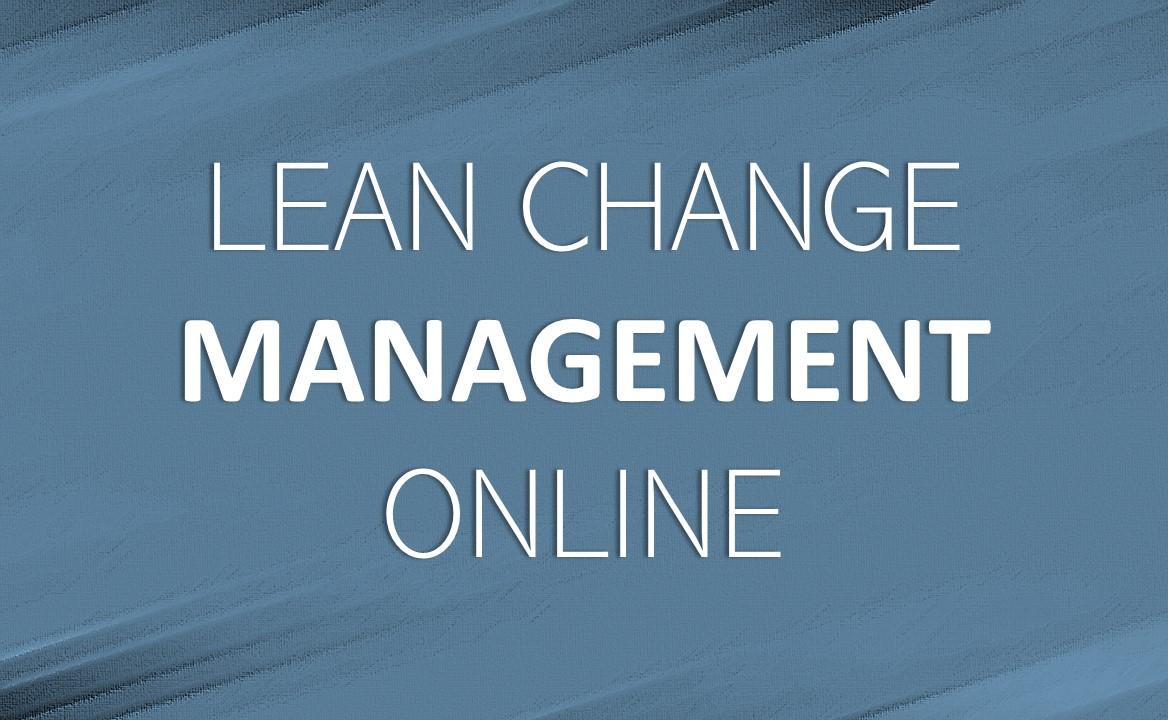 Lean Change Management online