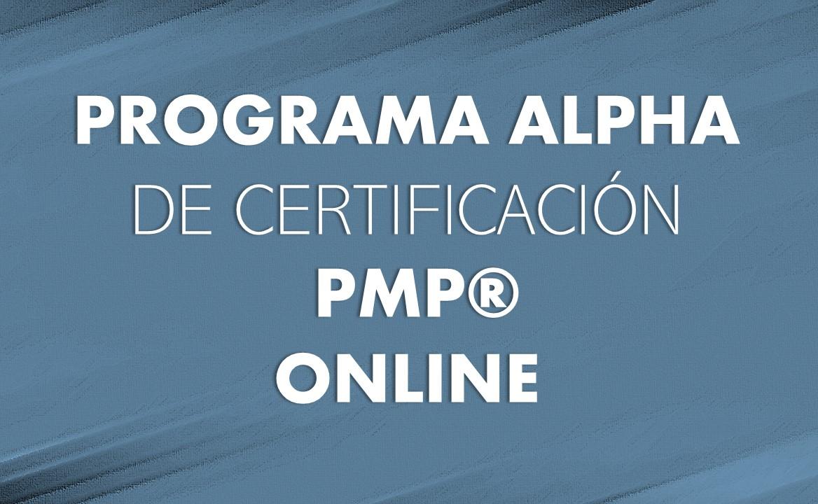 PROGRAMA PMP – ONLINE